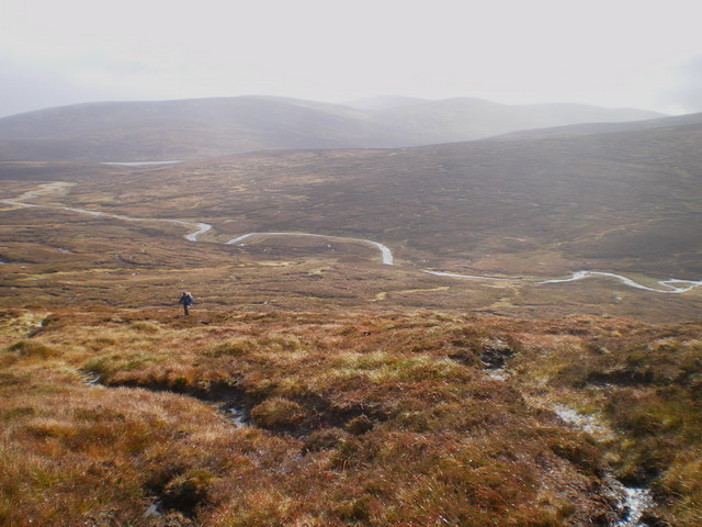 The valley of the upper Tarf Water