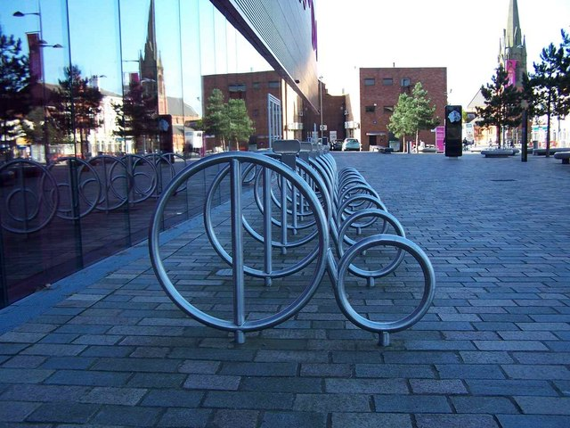Bicycle Rack, West Bromwich