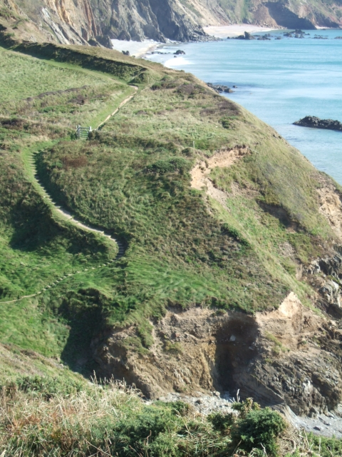 Marloes Sands and the coast path