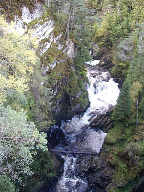 Allt na Bodachan gorge