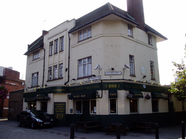 Ancient Forresters pub. 282, Galleywall Road, Rotherhithe, London, SE16