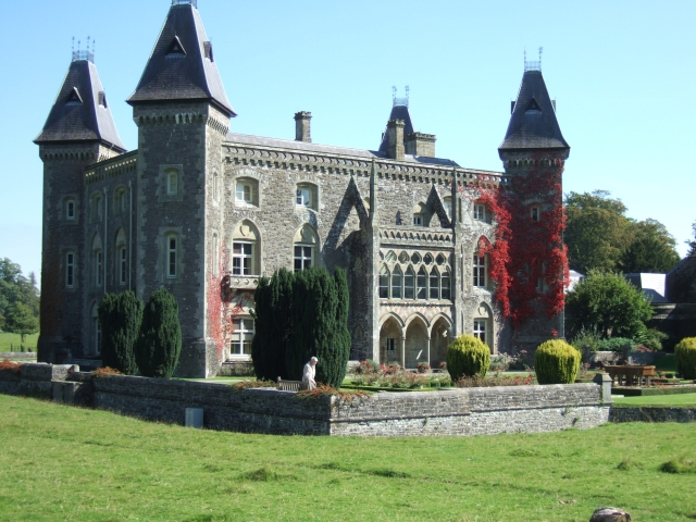 Newton House in Dinefwr Park