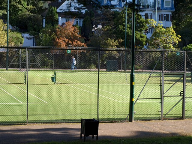 Tennis courts, Bournemouth