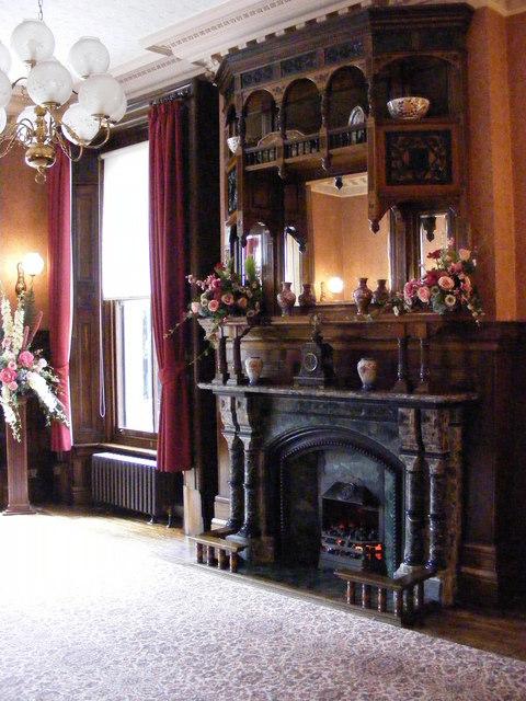 Inside Haden Hill House