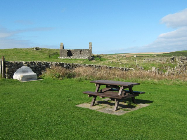 Picnic area in the Isle of Whithorn