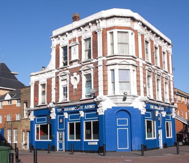 Bramcote pub. 68, Bramcote Grove, Rotherhithe, London, SE16