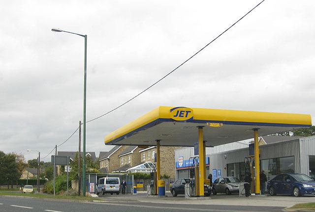 Filling station, Lanchester