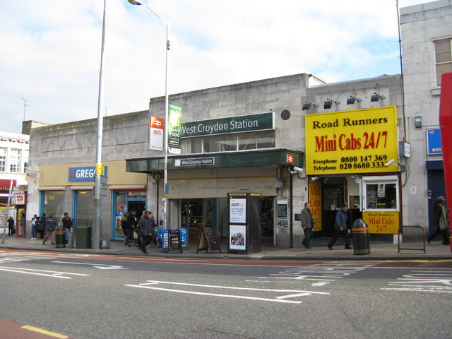 West Croydon station, exterior view