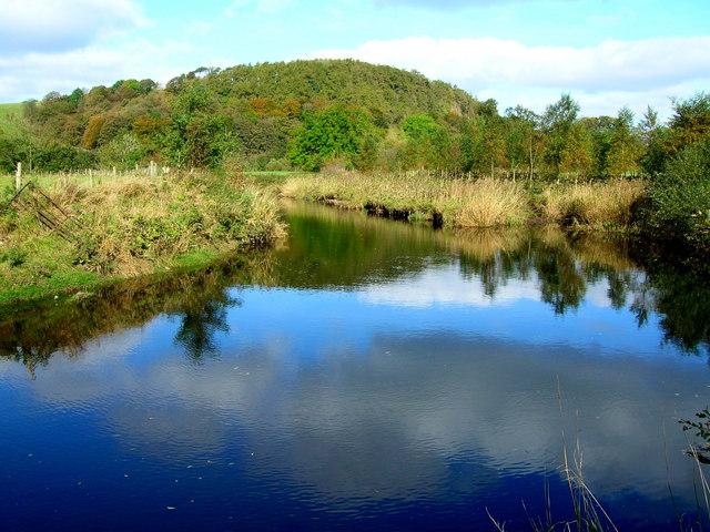 River Hodder, east of Newton