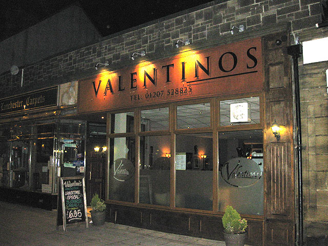 Italian restaurant, Lanchester