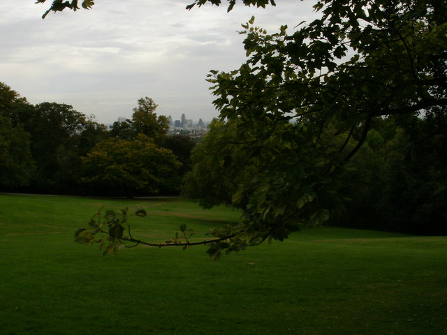 Distant London view