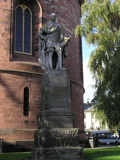 Statue, William, Earl of Lonsdale, Carlisle