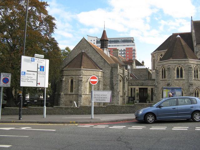 Attachment to Trinity Church, Sutton