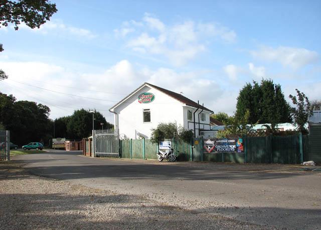 House at entrance to Cherry Lane Garden Centre