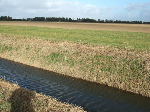 Private grass landing strip near Gorefield