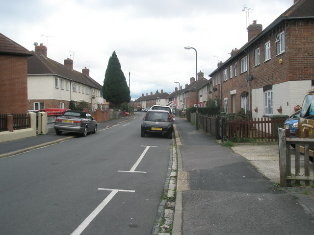 Mid section of Hilsea Crescent