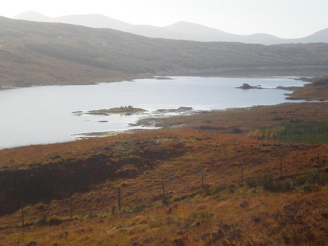 Moorland track above Loch Loyne