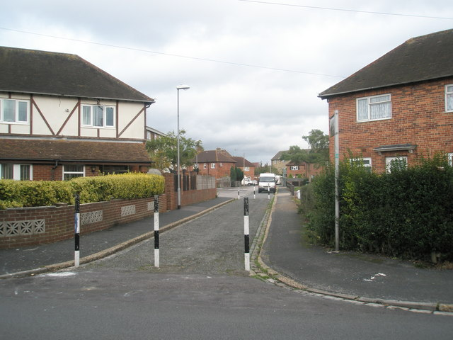 Looking from Hilsea Crescent into Midway Road