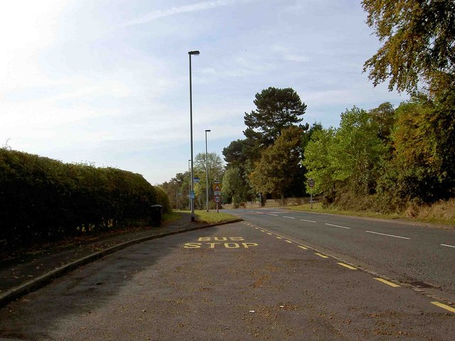 Bus stop, Birmingham Road, Shenstone
