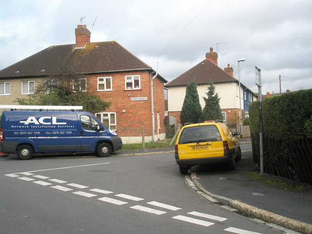 Junction of  Hilsea Crescent and North Avenue
