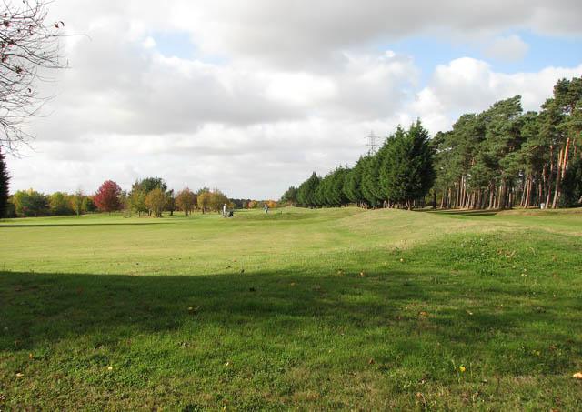 Golf course at Caldecott Hall