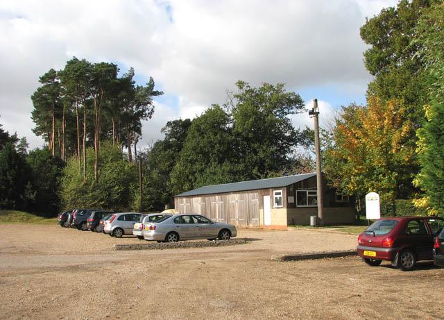 Caldecott Hall - car park 1