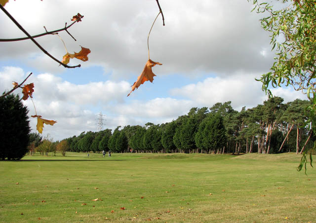 Caldecott Hall - the golf course