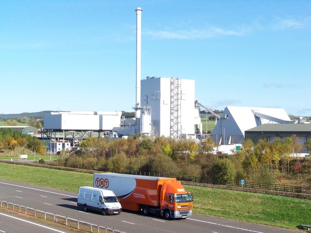 A74(M) And Steven's Croft Biomass Power Station