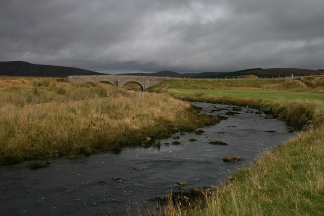 Bridge over the river Tirry at Crask
