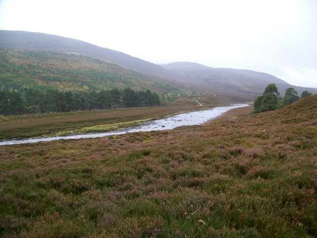 The River Dee near the Linn of Dee