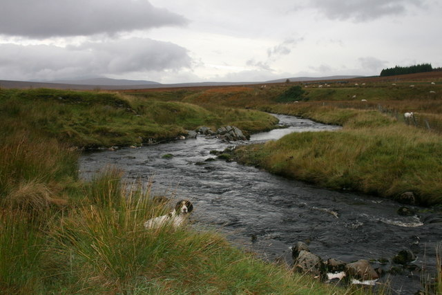 The Tirry flowing near Crask