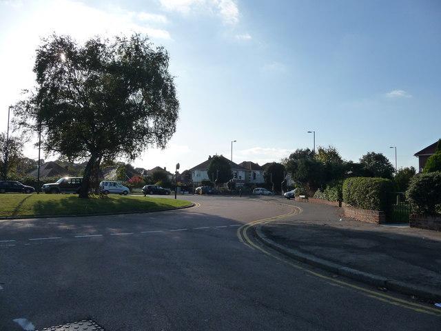 Bournemouth : Ibbertson Road & Castle Lane West