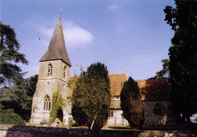 All Saints, Brightwalton