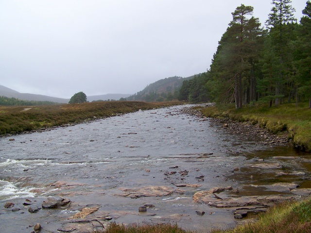 The River Dee at the Linn of Dee