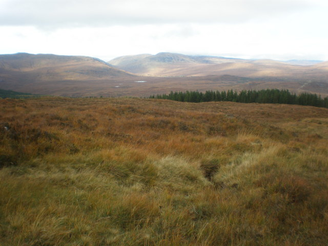 Allt Bealach Odhar tributary going down to Glen Moriston