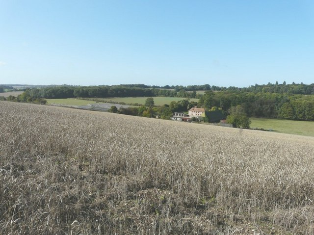 Shingleton Farm near Knowlton