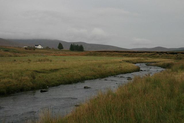 Upstream on the Tirry towards Crask