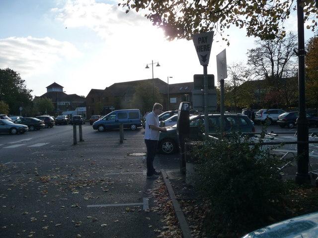 Ringwood : The Furlong Car Park