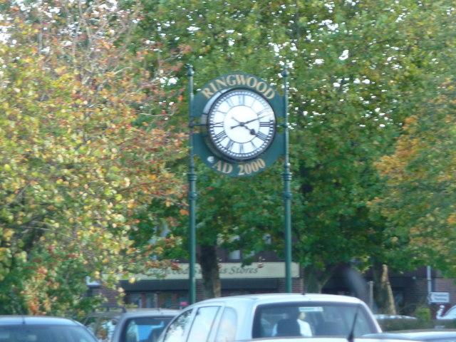 Ringwood : Ringwood Clock