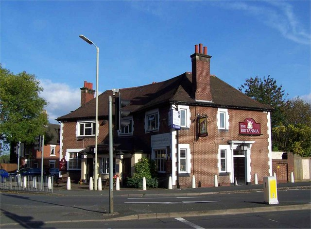 The Britannia, Rugeley