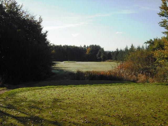 Shotts golf course