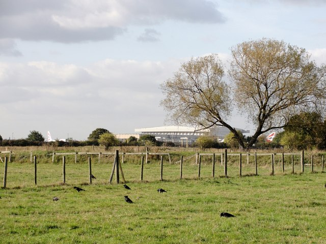 Fields near Hatton Cemetery