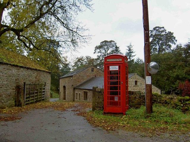 Telephone box, Beamsley