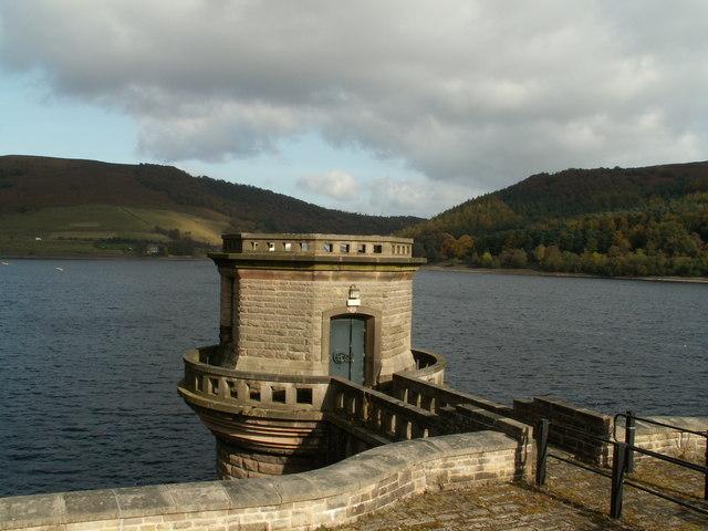Western Tower Ladybower Reservoir