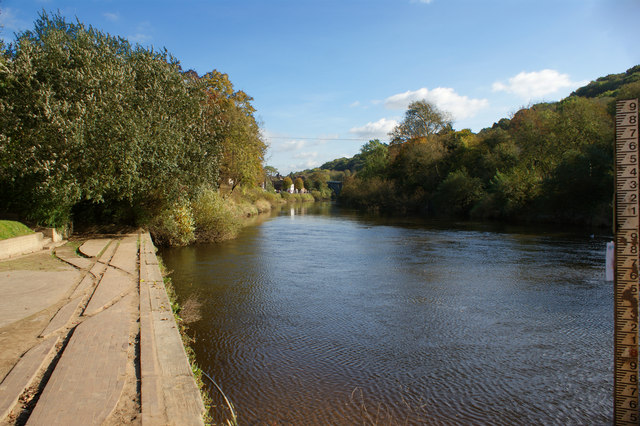 The River Severn at Ironbridge