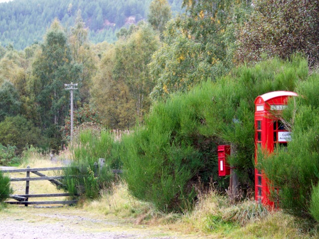 Telephone box, Inver