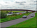 TL2398 : Overtaking vehicle by John Webber