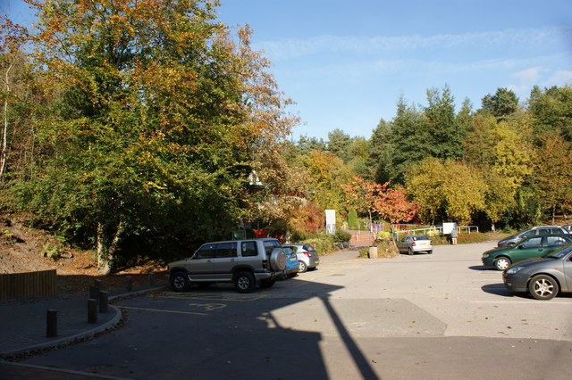 The car park at Blists Hill