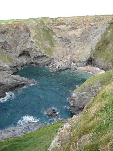 Cove near Porthcothan