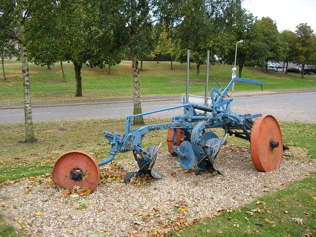 Disused Plough, Stretton
